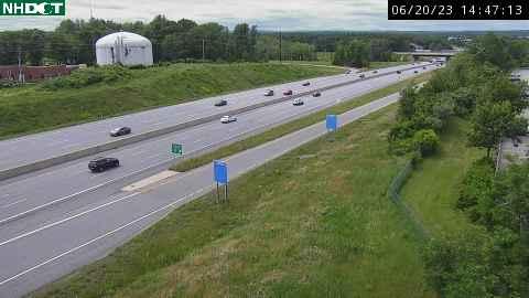 Spaulding Turnpike Traffic Cam in Newington NH