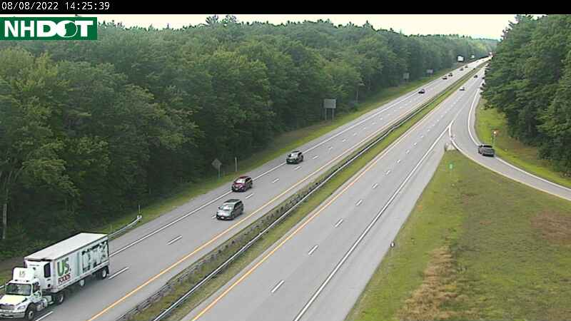 Spaulding Turnpike Traffic Cam in Dover NH