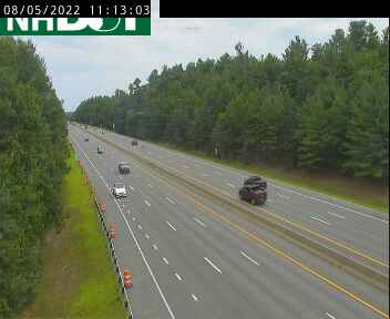 Nashua NH Traffic Cam - Exit 8 on F E  Everett Turnpike